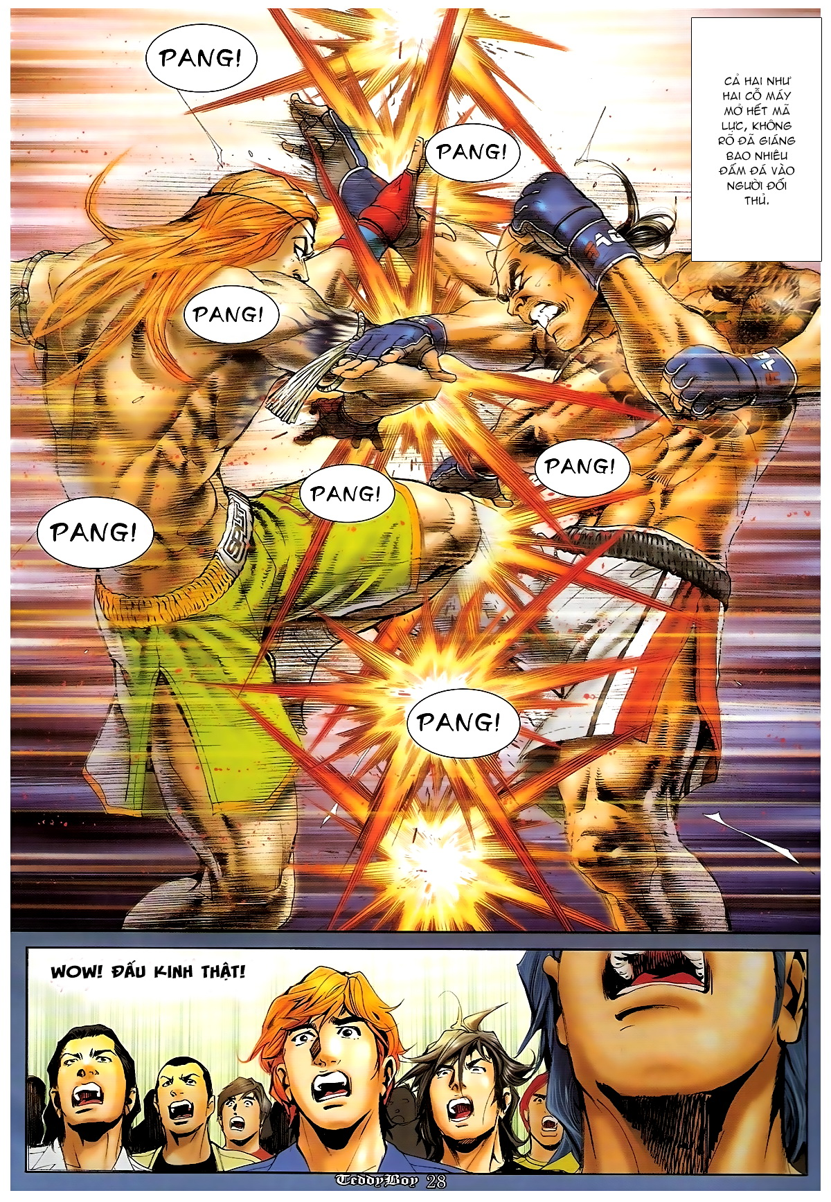 Người Trong Giang Hồ - Chapter 1250: Tối Cường vs Tối Cường 2 - Pic 24