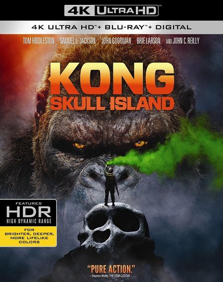 Kong: Skull Island 4K (Kong: La Isla Calavera 4K) (2017) 2160p 4K UltraHD HDR BluRay REMUX 50GB mkv Dual Audio Dolby TrueHD ATMOS 7.1 ch