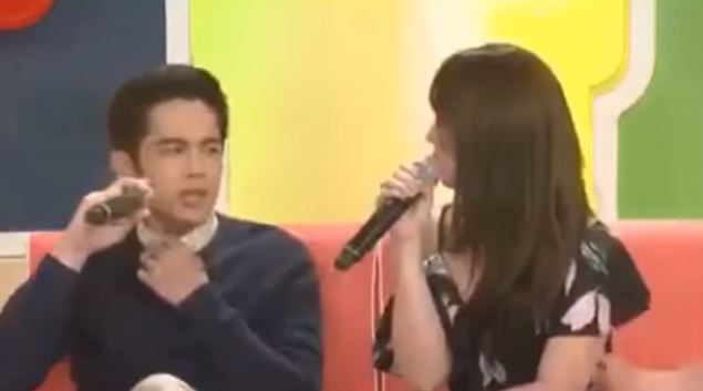 Masyadong Naging Touchy Si Julia Barretto Nang Gawin Niya Ito Bigla Sa Kandungan Ni Joshua Garcia!
