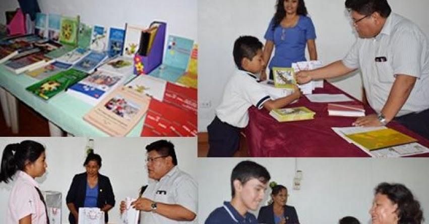 DRE Madre de Dios premió a ganadores del concurso regional de elaboración de textos literarios por «El Día Mundial del Libro»