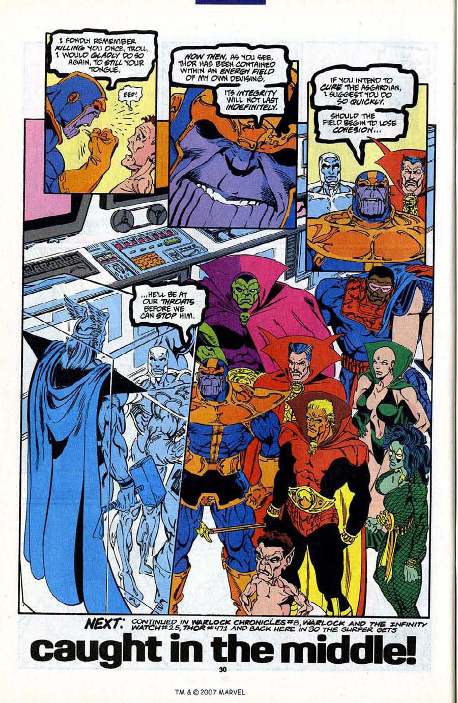 Read online Silver Surfer (1987) comic -  Issue #88 - 48