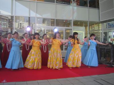 フィナーレのフラダンス