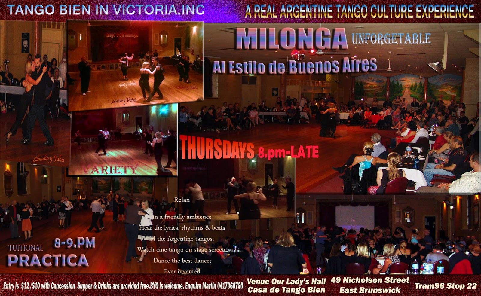 Argentine tango melbourne