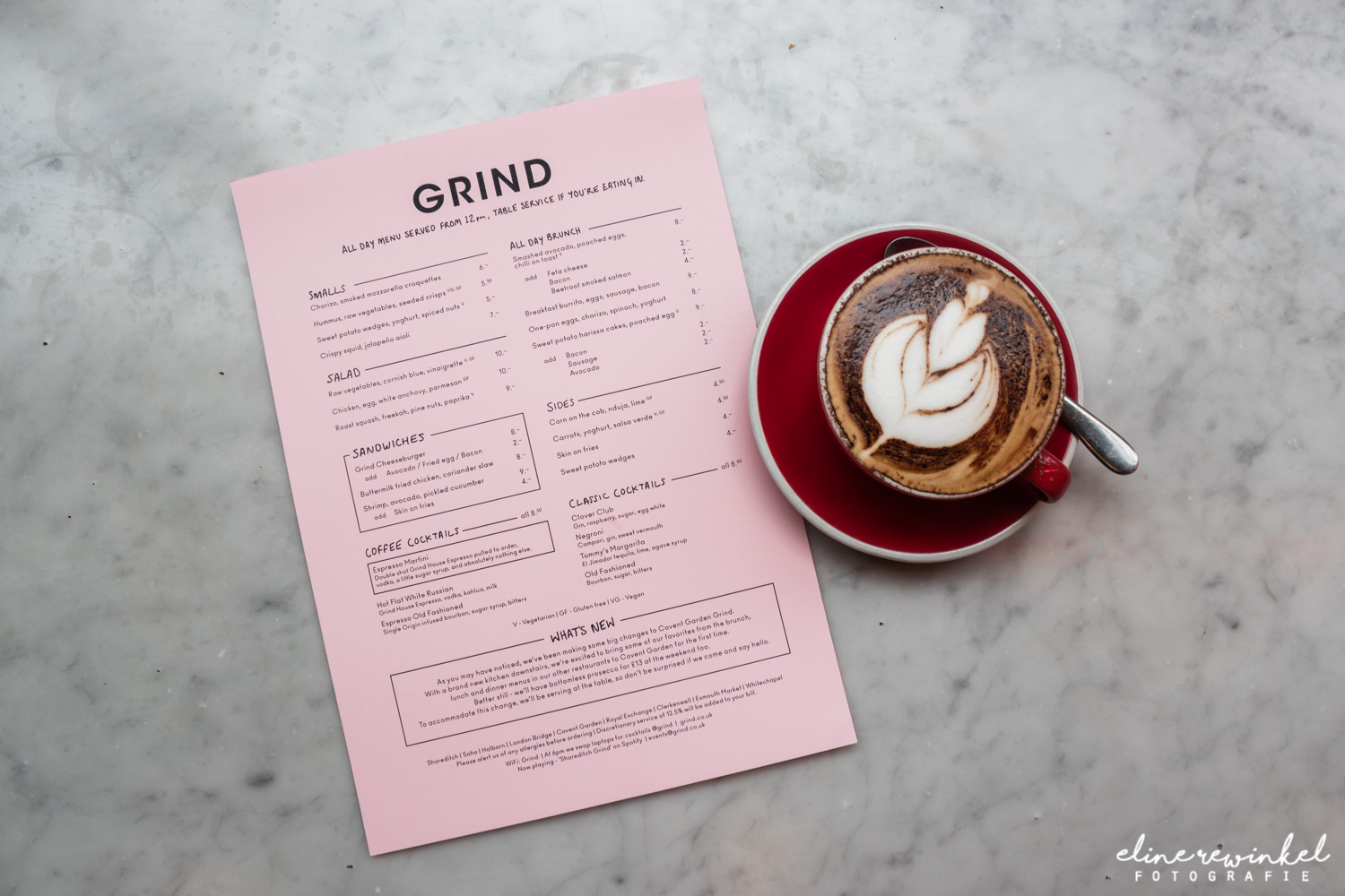 Hotspot in London: Grind