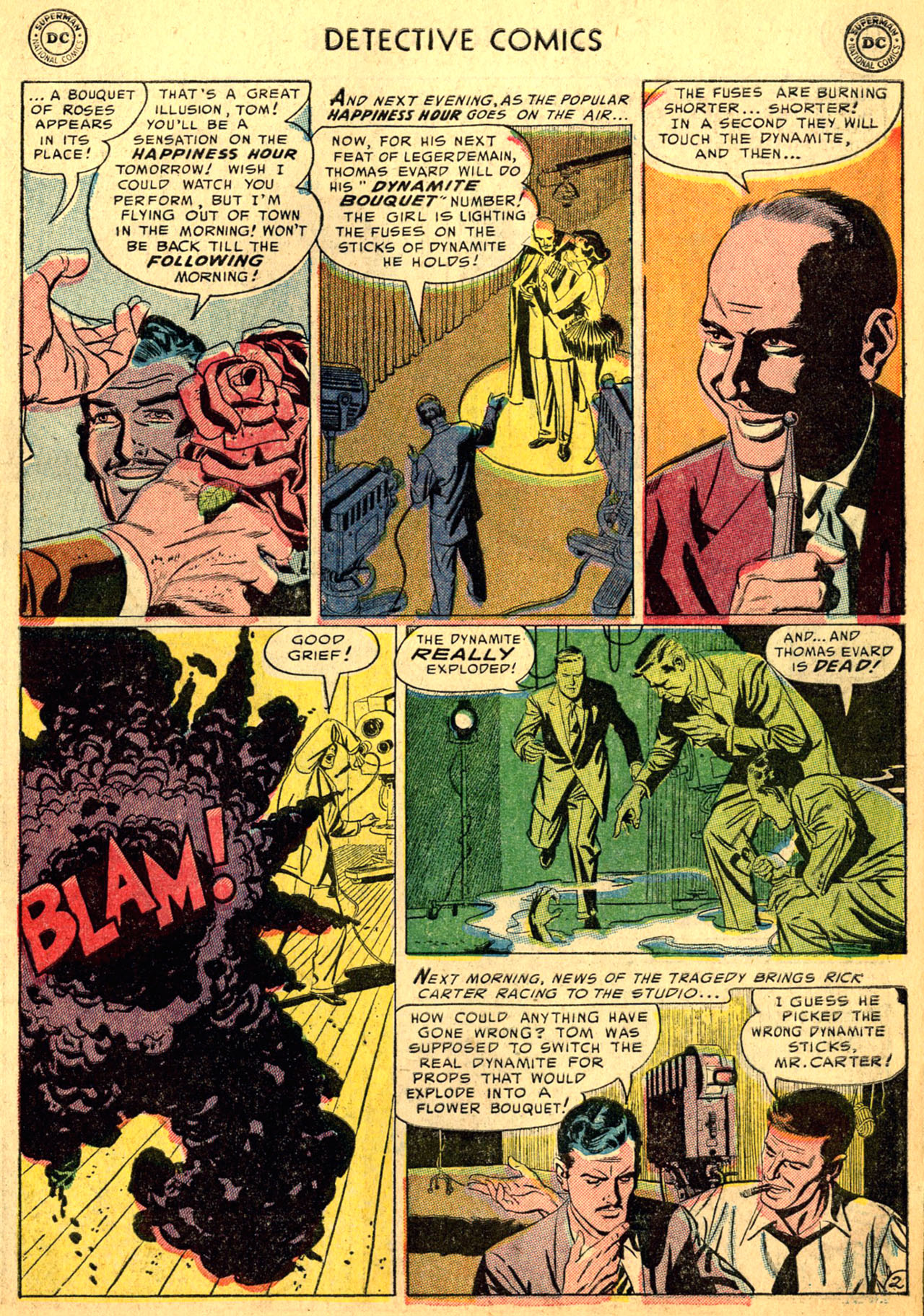 Read online Detective Comics (1937) comic -  Issue #205 - 35