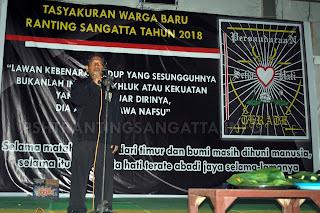 Tasyakuran Warga Baru PSHT Ranting Sangatta Tahun 2018