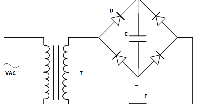 simple power supply without transformer