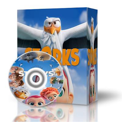 Storks 2016 Hd-Mp4-1080p-BluRay-Español y Ingles