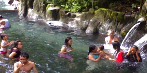 taman wisata air panas guci, tegal, wisata air panas, wisata guci tegal