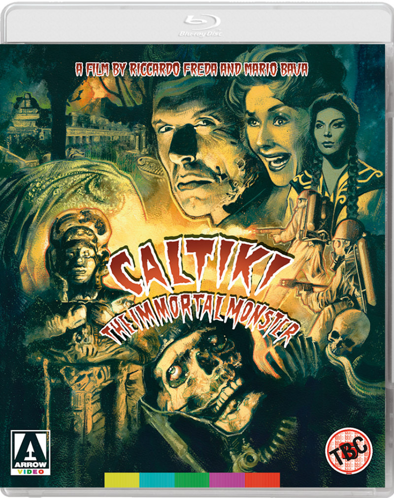 caltiki the immortal monster arrow video