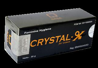crystalx menyembuhkan keputihan