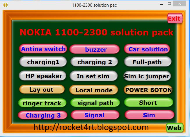 Kumpulan Koleksi Service Tool Pack Nokia_China