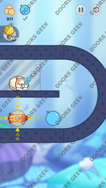Hello Cats Level 50 Solution, Cheats, Walkthrough 3 Stars for Android and iOS