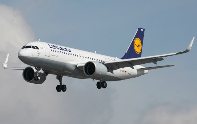 Airbus A320neo of Lufthansa Airlines