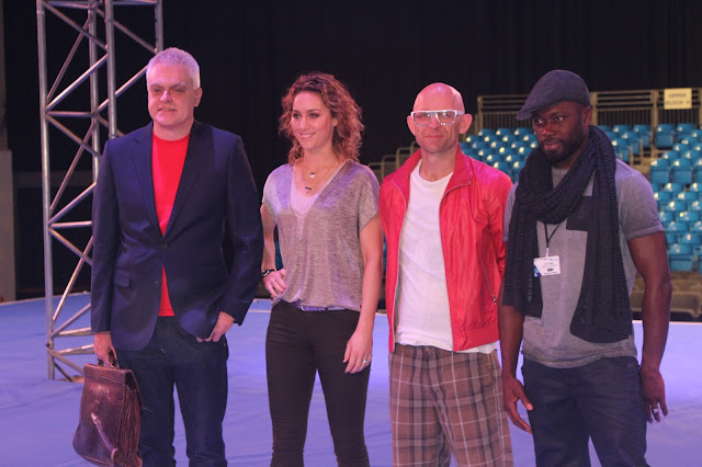 Photograph of The Gadget Show Presenters