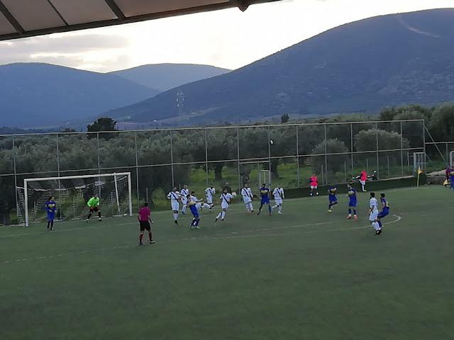 Νικήτρια 2-0  η Ερμιονίδα στο τοπικό ντέρμπι με την Ένωση Λέρνας