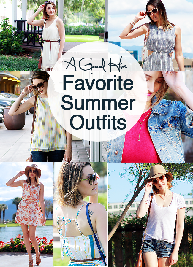 A Good Hue: Favorite Summer Outfits