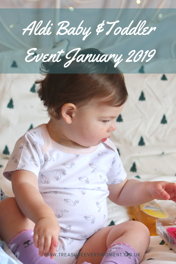 SHOPPING: Aldi Baby and Toddler Event January 2019