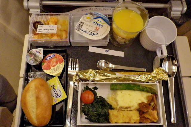 Flugangst Essen Food Flugzeug Verpflegung Vegetarisch Airline VML