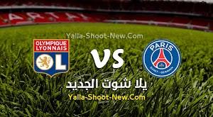 نتيجة مباراة باريس سان جيرمان وليون اليوم الجمعة بتاريخ 31-07-2020 في كأس الرابطة الفرنسية