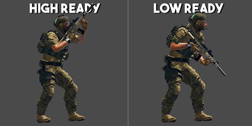 Arma3でハイ/ロー レディができるTactical Position Ready MOD
