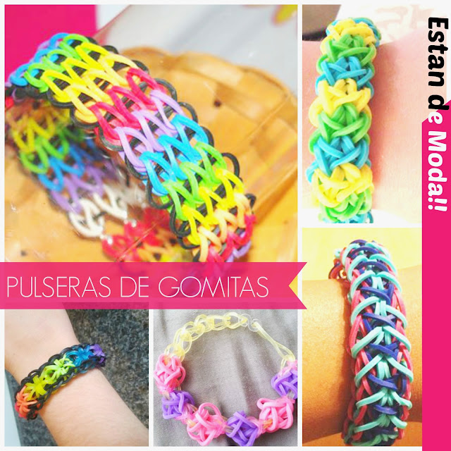 Pulseras de Gomitas, Rainbow Loom Bands