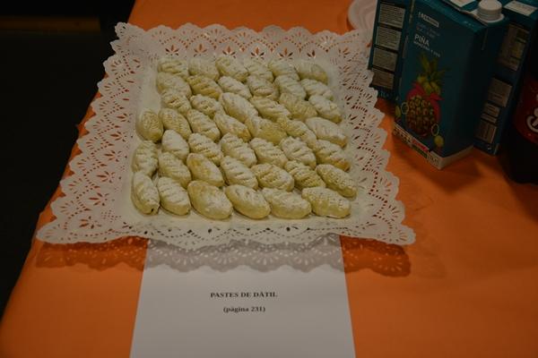 Pastes de dàtil i sucs del Caprabo, patrocinador