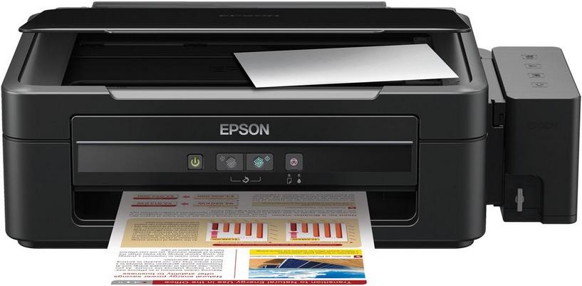 Epson l210 Manual reset