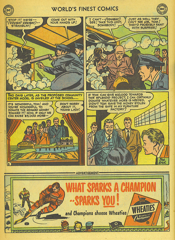 Read online World's Finest Comics comic -  Issue #57 - 48