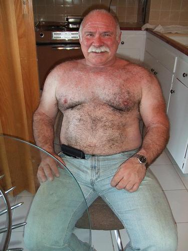 bear Old men gay