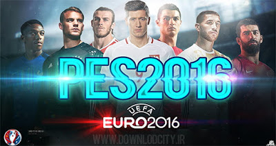 PES 2016 Euro 2016 HD Start Screen v3 by downlodcity