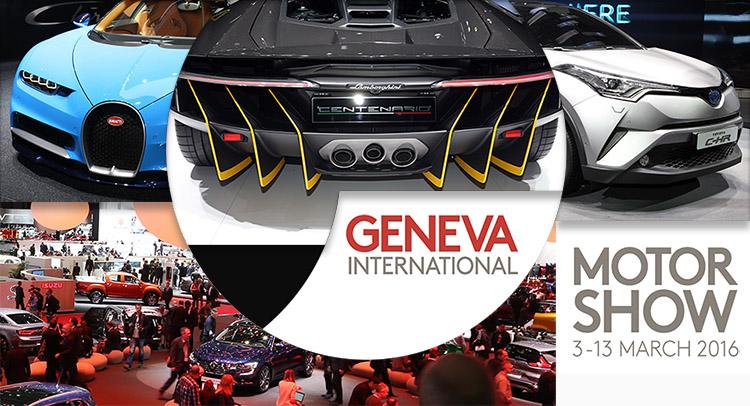 Dạo một vòng Geneva Motor Show 2016 cùng Terocket
