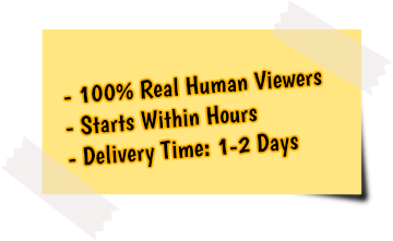 get more Facebook video views service features