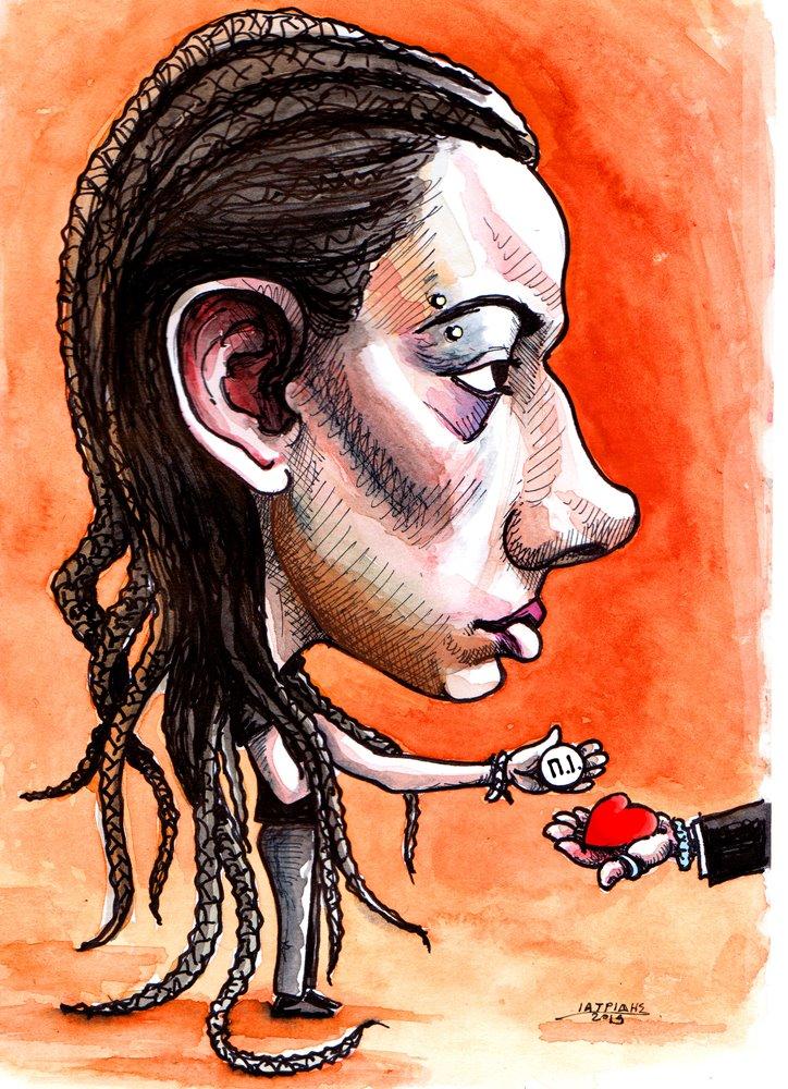 Αποχώρησε  η Ιωάννα Μπουρλόκα από το #MasterChefGR Καρικατούρα
