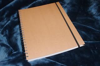 hipster a4 notebook