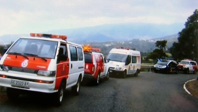 Senderista perdida en Pico de Bandama
