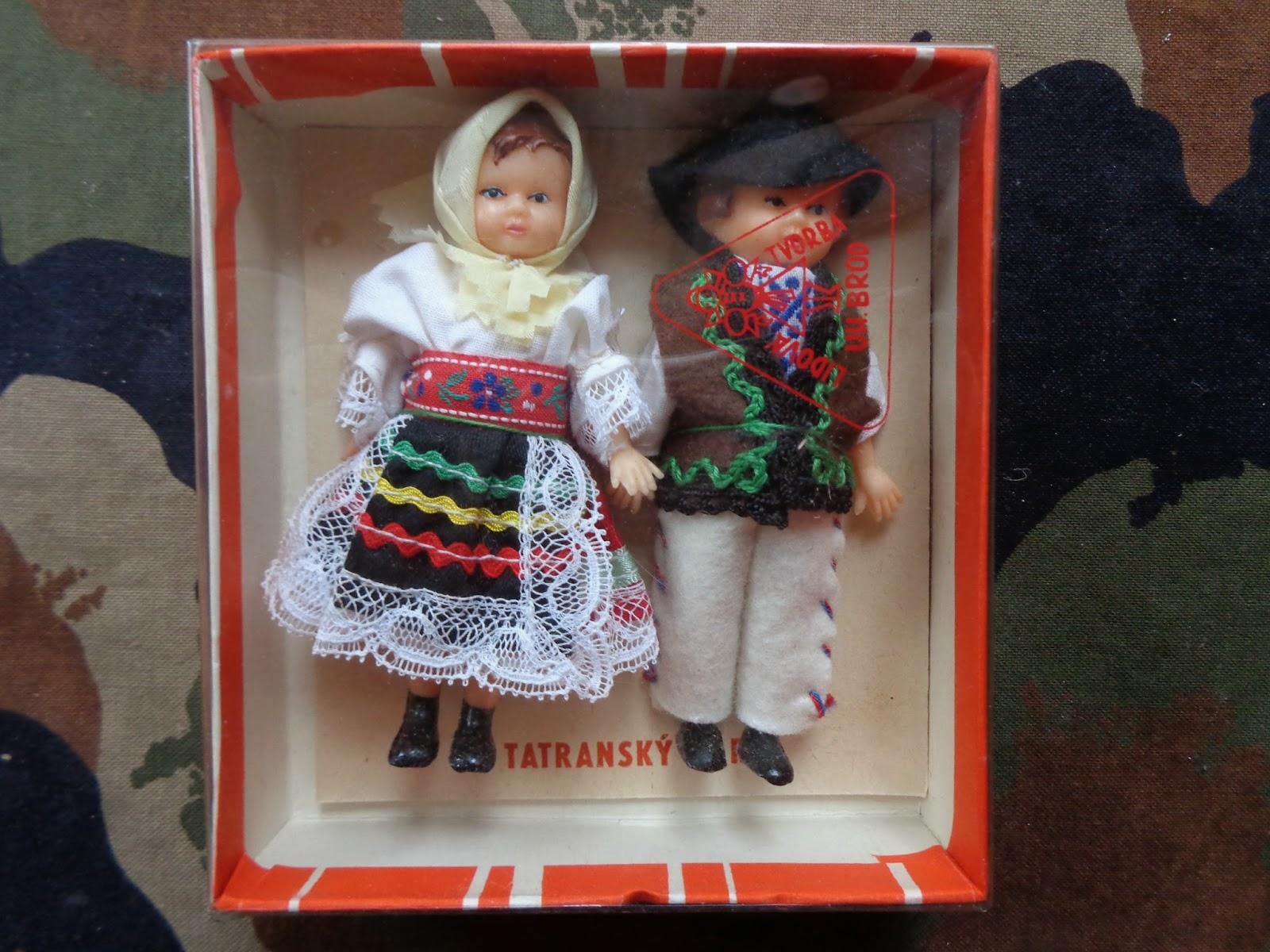 0aee518556 Bonifác Retro Játék Múzeum: Tatransky pár baba 10cm-es