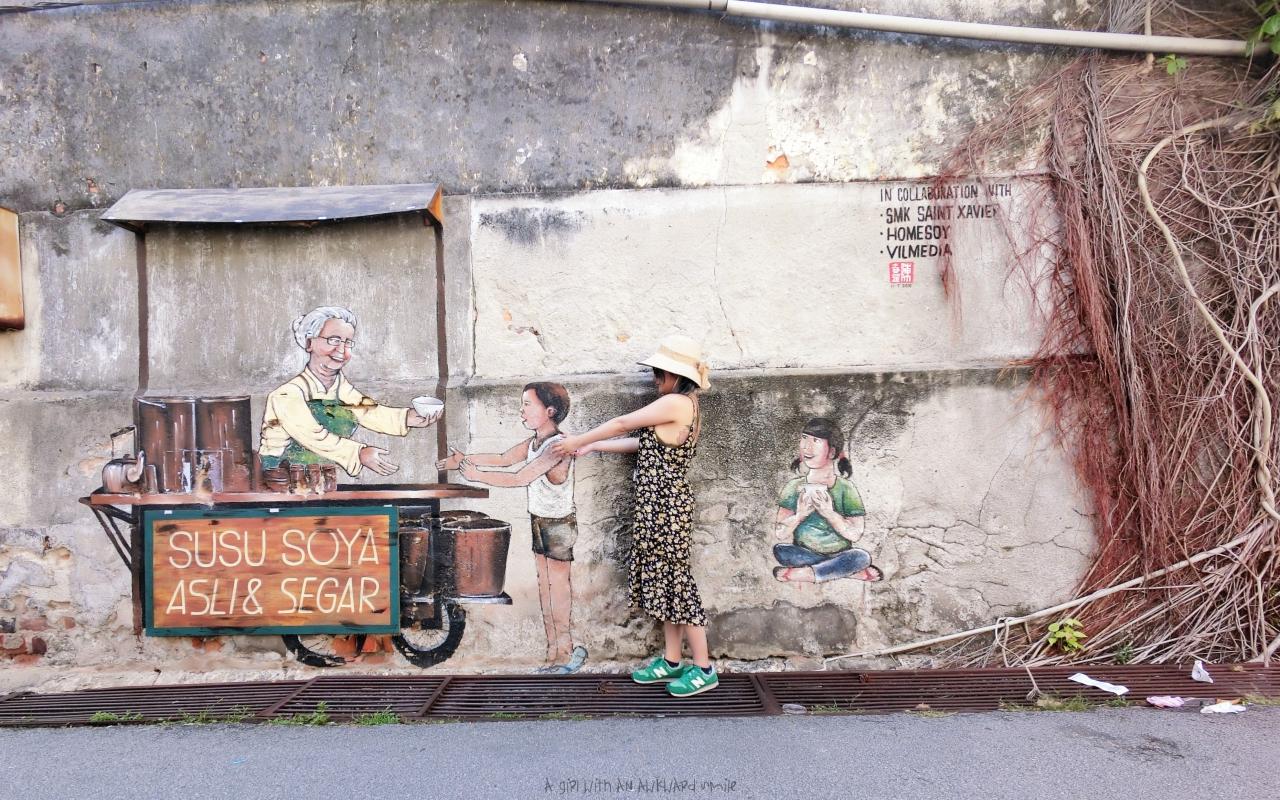 'Susu Soya Asli & Segar @Chulia Street Ghaut