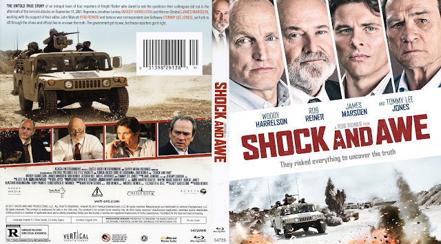 Shock and Awe Bluray