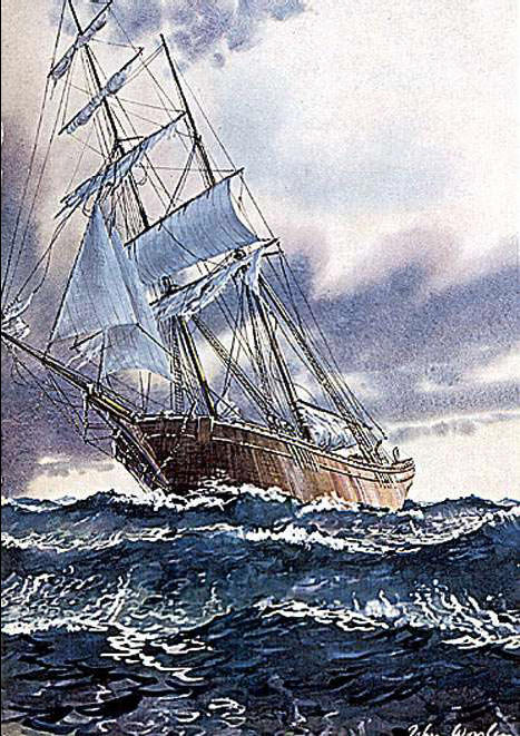Tragedy misterius Mary Celeste