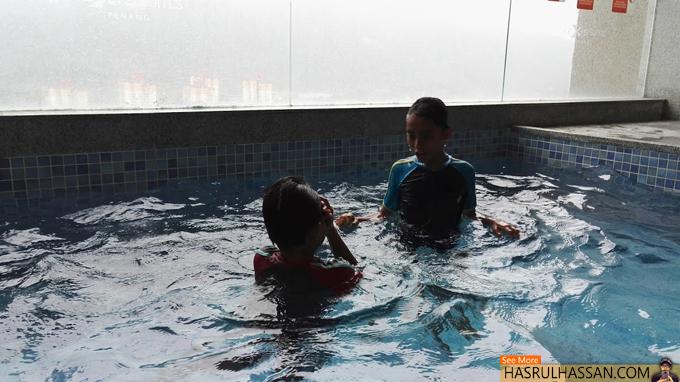 Gambar Kolam Bilik Executive Pool Suite, Lexis Suites Penang