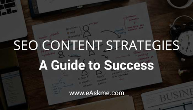 SEO Content Strategies: A Guide to Success: eAskme.com
