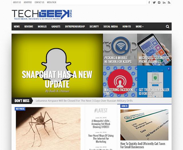 Top 5 Technology Websites in Lebanon TechGeek365
