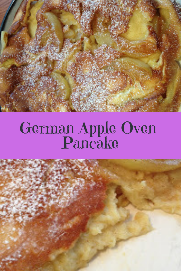 German Apple Oven Pancake Recipe