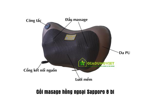 Gối massage đa năng đem lại sức khỏe dẻo dai cho gia đình bạn
