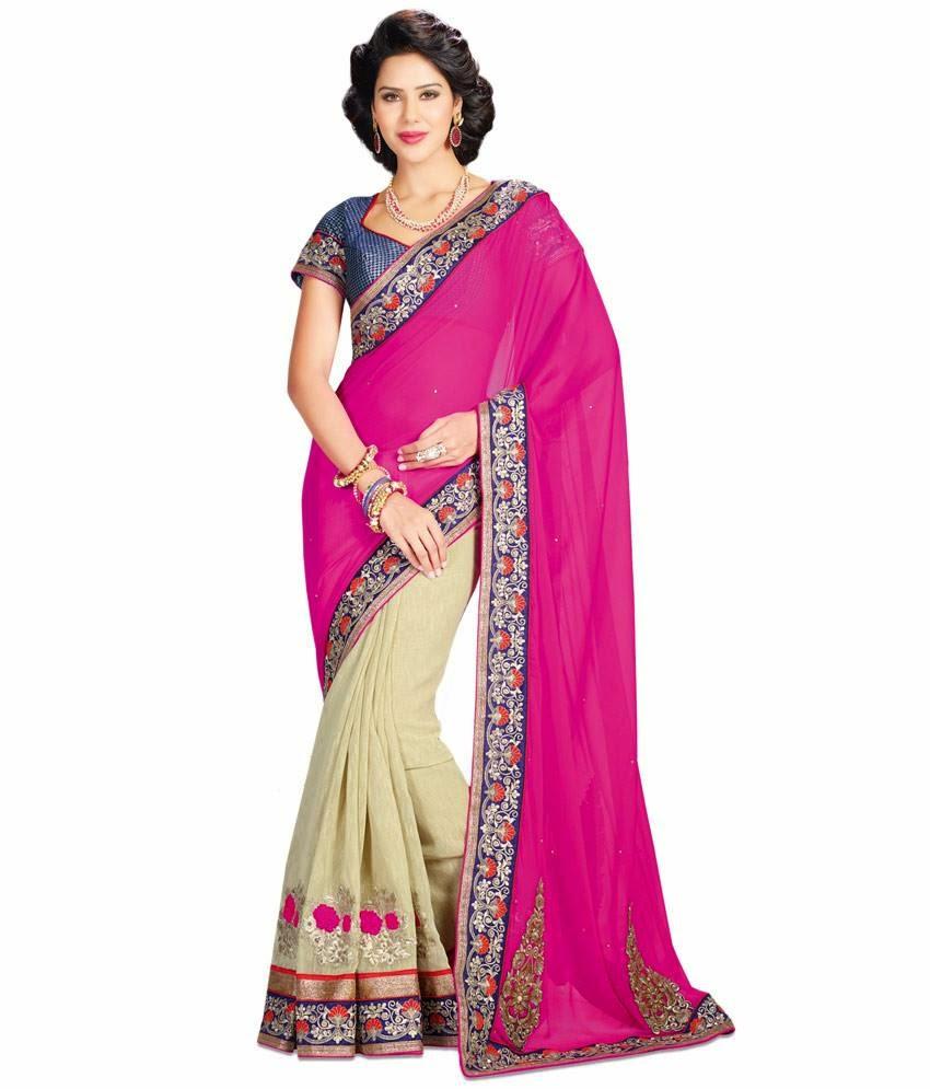 New Trend - Beautiful Designer Sarees