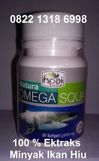 Khasiat Nature omega 3 squa untuk kesehatan otak dan jantung