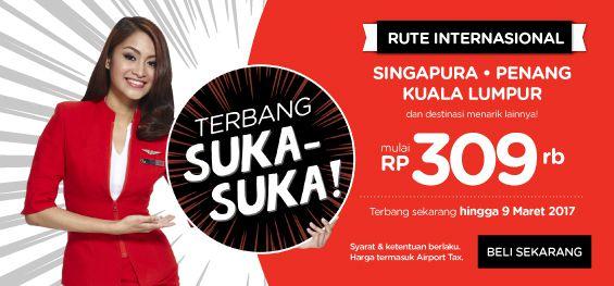 Tiket Promo Air Asia Juni 2017