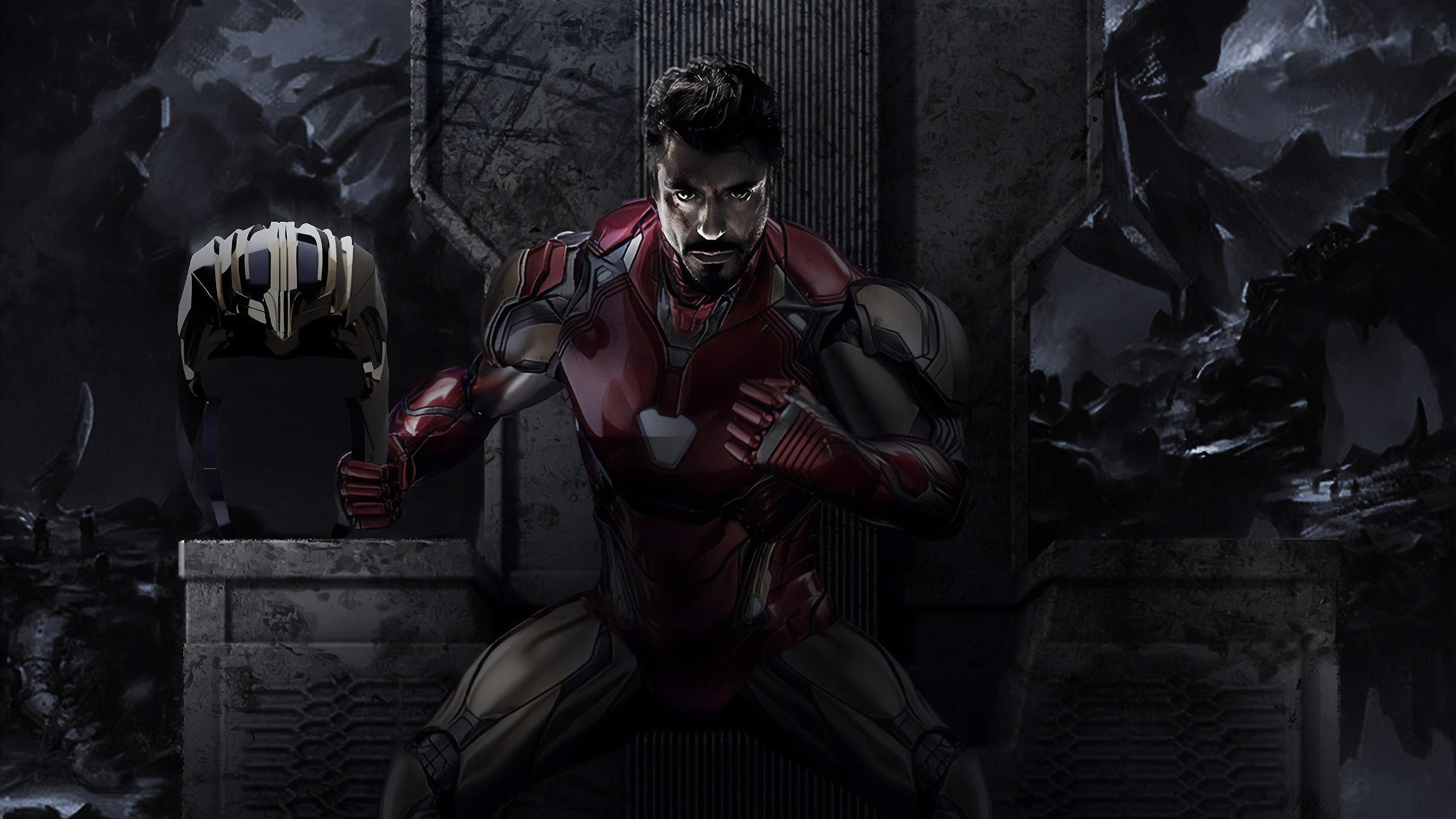 Iron Man Tony Stark Avengers Endgame 4k Wallpaper 178