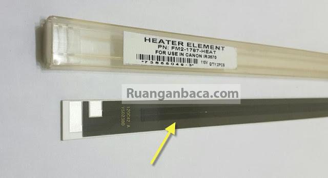 Heater Elament tegangan 220 volt